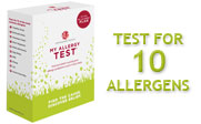 My Allergy Test - Home kit for testing up to 10 common allergens