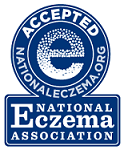 National Eczema Association Approved - Rated 5 out of 5 Stars