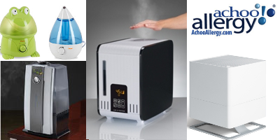 New Room Humidifiers at AchooAllergy