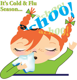 Allergy Relief Products for cold and flu season