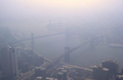 Ground Level Ozone and Smog - NYC 1988