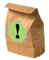 Bag Lunch Avoid Food Allergies
