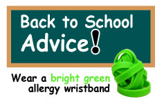 Back to School Advice for Allergy Parents