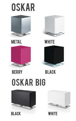 Oskar Cool Mist Humidifiers Now in Color