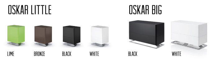 Stadler Form Oskar Top Fill Humidifier Color Options