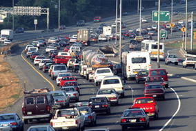 Traffic and Industrial Pollution Produce A Wide Array of Pollutants
