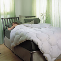 Pearl Crescent Hypodown Comforters by Ogallala