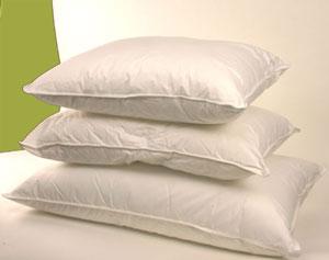 fluffy pillows