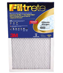 Electrostatic Furnace Filters Trap Pollen
