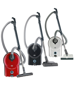 SEBO Airbelt D4 Vacuums - Airbelt D4 Premium - Red (without Powerhead)