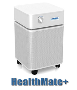 Austin Air Healthmate Air Purifiers - Austin HealthMate Jr. Midnight Blue