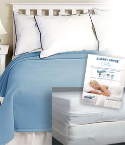 Dust Mite Dorm Bedding Package