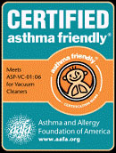 Dyson Asthma Friendly Certificate
