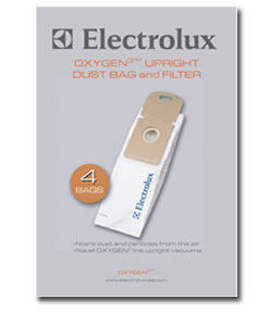 Electrolux Oxygen3 Upright Bags