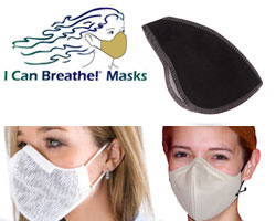 Honeycomb Mask with Carbon Filter