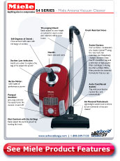 Miele Antares Vacuum Cleaner Details