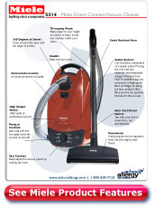 Miele Direct Connect Vacuum