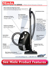 Miele Orion Vacuum Cleaner Details