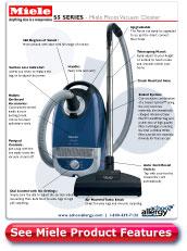 Miele Pisces Vacuum Cleaner Details