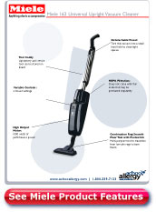 Miele 163 Universal Upright Stick Vacuum Cleaner