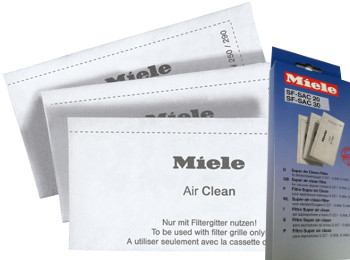 Miele Air Clean Filter - Replacement 3pk