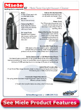 Miele Twist Upright Vacuum Cleaner Details
