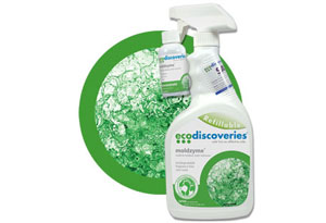 EcoDiscoveries MoldZyme - Non-toxic Mold Cleaner