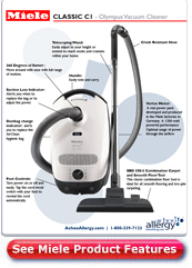 Miele S2 Olympus Canister Vacuum Detail