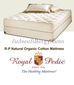 Royal Pedic Organic Cotton Mattresses Free Shipping