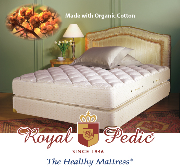 Royal-Pedic Natural Organic Latex Mattress