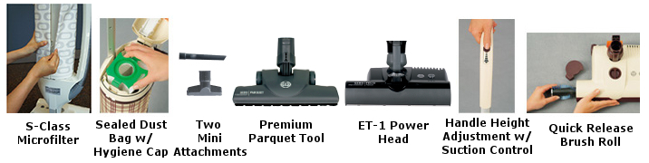 SEBO Felix Series Attachments