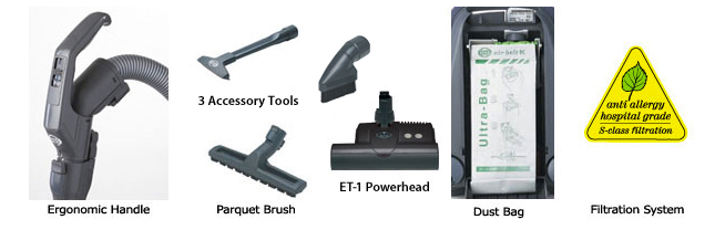SEBO K3 Series Attachments
