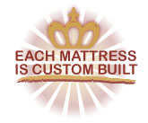 Custom Built Royal-Pedic Mattress
