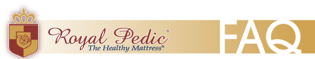 Royal-Pedic Mattresses Frequently Asked Questions