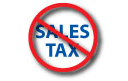 No Sales Tax!