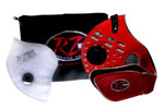 Red Z Mask