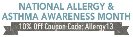 Allergy & Asthma Awareness Month Sale! - Details