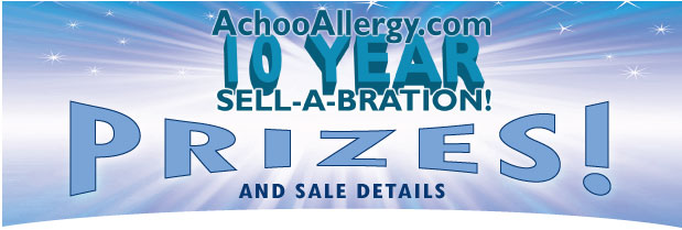 AchooAllergy.com 10 Year Anniversary