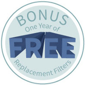 Get One Year of Free Filters with the Purchase of Any Amaircare 2500 HEPA Air Purifier