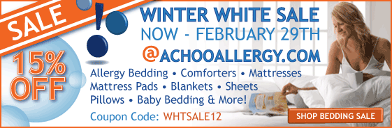 15% off All Bedding Now - Feb 29th!