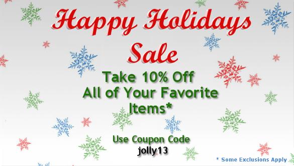 Take 10% Off Every Order