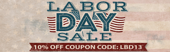 Take 10% Off During Our Labor Day Sale!