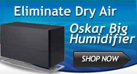 Oskar Big Humidifier - Top-Fill, Cool Mist