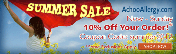 10% OFF Your Order at AchooAllergy.com!