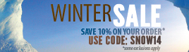 AchooAllergy.com Winter Sale! Take 10% Off Your Favorite Allergy Relief Products!