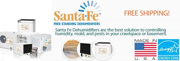 Santa Fe Residential Dehumidifiers