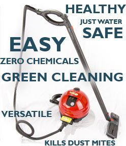 Safe, Green Cleaning - with Steam