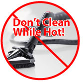 Maintain Your Steam Cleaner - Allow Your Steam Cleaner to Cool Before You Clean It