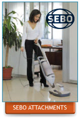 Sebo Vacuum Attachments