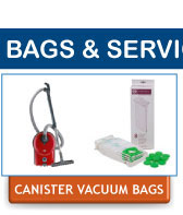 SEBO Replacement Canister Vacuum Cleaner Dust Bags